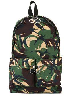 Камуфляжный Рюкзак На Молнии OFF-WHITE                                                                                                              коричневый цвет