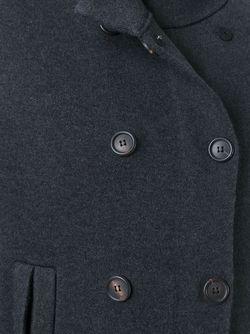 Buttoned Short Sleeve Coat Brunello Cucinelli                                                                                                              серый цвет