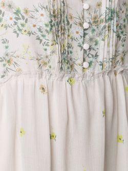 Print Long Dress Sea                                                                                                              Nude & Neutrals цвет