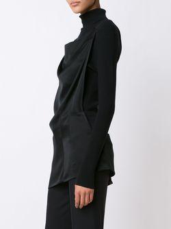Satin Top Ann Demeulemeester                                                                                                              черный цвет
