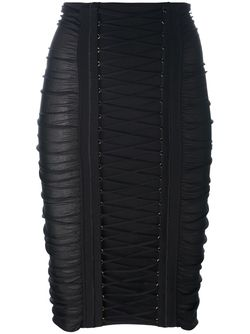 Юбка-Карандаш Balmain                                                                                                              чёрный цвет