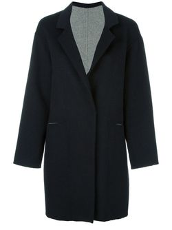 Single Breasted Midi Coat Liska                                                                                                              чёрный цвет