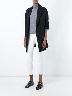 Burnt Effect Cropped Jeans J Brand                                                                                                              белый цвет