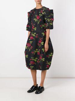 Print Dress Comme Des Garcons                                                                                                              чёрный цвет