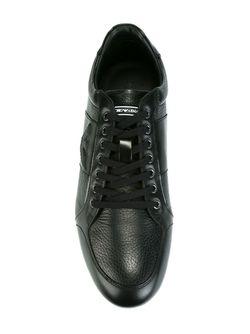 Panelled Sneakers Emporio Armani                                                                                                              чёрный цвет