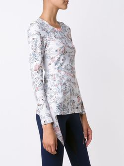 Print Fine Knit Sweatshirt Lucas Hugh                                                                                                              белый цвет