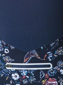 Print Fine Knit Sweatshirt Lucas Hugh                                                                                                              синий цвет