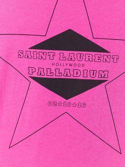 Футболка Palladium Saint Laurent                                                                                                              розовый цвет