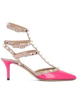 Rockstud Pumps Valentino                                                                                                              розовый цвет