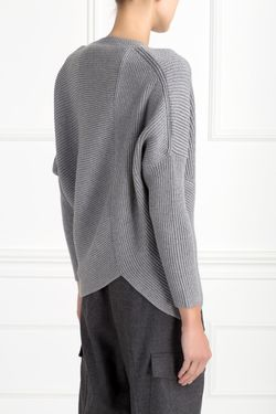 Шерстяной Джемпер Stella Mccartney                                                                                                              серый цвет