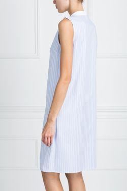 Платье С Принтом ARnouveau                                                                                                              голубой цвет