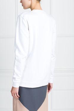 Хлопковый Свитшот A La Russe                                                                                                              белый цвет