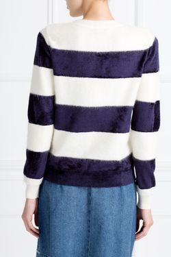 Хлопковый Джемпер A.P.C.                                                                                                              синий цвет