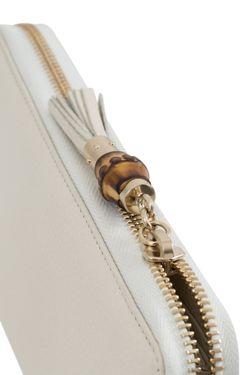 Кожаный Кошелек Gucci                                                                                                              белый цвет