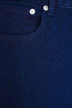 Джинсы A.P.C.                                                                                                              синий цвет