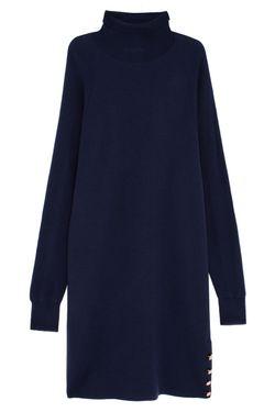 Платье Из Шерсти Мериноса See By Chloe                                                                                                              синий цвет