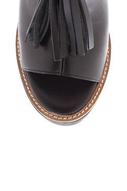 Кожаные Ботильоны Solace KG                                                                                                              черный цвет