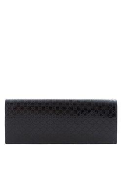 Клатч Из Лакированной Кожи Broadway Microssima Gucci                                                                                                              черный цвет