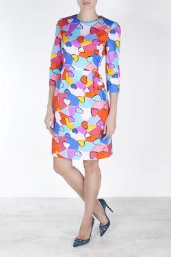 Шерстяное Платье Tata Naka                                                                                                              многоцветный цвет