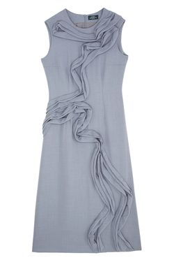 Шерстяное Платье Alena Akhmadullina                                                                                                              серый цвет