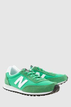 Кроссовки 410 New Balance                                                                                                              зелёный цвет