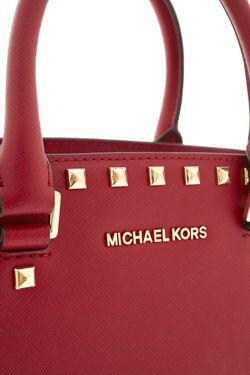 Кожаная Сумка Michael Michael Kors                                                                                                              розовый цвет