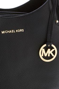 Кожаная Сумка Michael Michael Kors                                                                                                              чёрный цвет