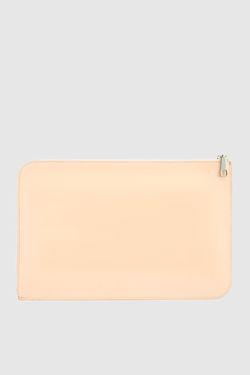Клатч Из Лакированной Кожи Marc Jacobs                                                                                                              Кремовый цвет