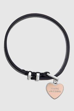 Кожаный Браслет Marc Jacobs                                                                                                              черный цвет