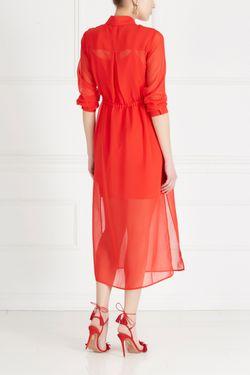 Однотонное Платье MO&Co                                                                                                              красный цвет