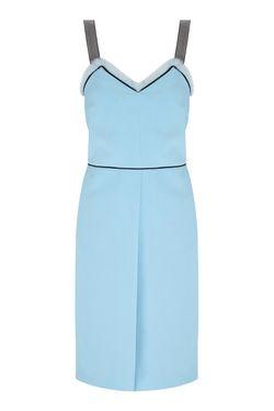 Платье VIKTORIA IRBAIEVA                                                                                                              голубой цвет