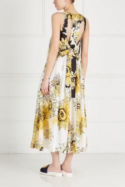 Шелковое Платье No21                                                                                                              желтый цвет