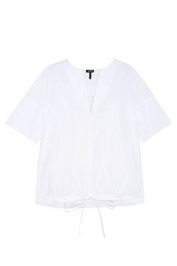 Хлопковый Топ Jil Sander Navy                                                                                                              белый цвет
