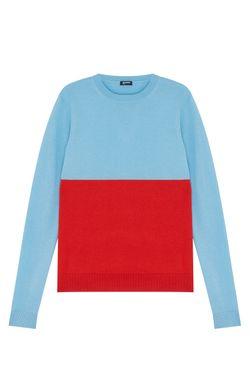 Джемпер Из Шелка И Кашемира Jil Sander Navy                                                                                                              красный цвет