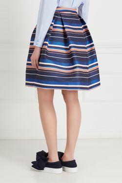 Хлопковая Юбка Victoria Andreyanova                                                                                                              многоцветный цвет