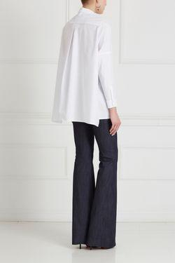 Хлопковая Блузка Victoria Andreyanova                                                                                                              белый цвет