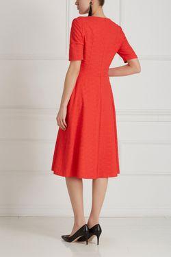 Однотонное Платье Chapurin                                                                                                              красный цвет