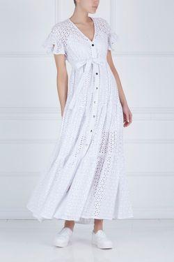 Кружевное Платье KATЯ DOBRЯKOVA                                                                                                              белый цвет