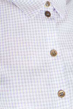 Хлопковое Платье A La Russe                                                                                                              фиолетовый цвет