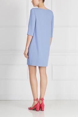 Однотонное Платье A La Russe                                                                                                              голубой цвет