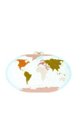Клатч Columbus Charlotte Olympia                                                                                                              многоцветный цвет
