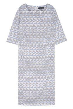 Платье Из Льна Pallari                                                                                                              голубой цвет