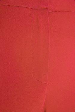 Однотонные Брюки Natalia Valevskaya                                                                                                              красный цвет