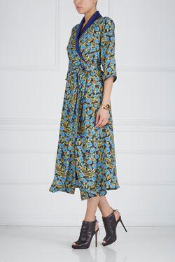 Платье С Запáхом Nataniel Dobryanskaya                                                                                                              желтый цвет
