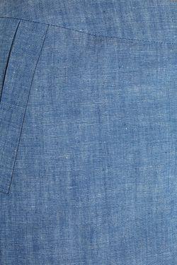 Юбка-Шорты Из Денима Victoria Andreyanova                                                                                                              голубой цвет