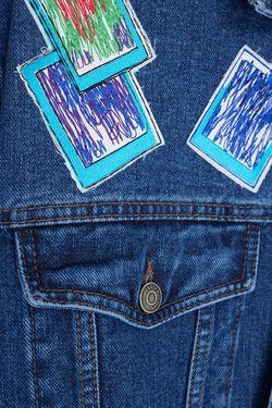 Джинсовая Куртка KATЯ DOBRЯKOVA                                                                                                              синий цвет