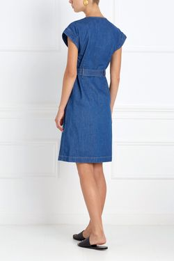 Платье Из Денима Tucson Mih Jeans                                                                                                              синий цвет