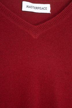 Кашемировый Пуловер Master Piece                                                                                                              красный цвет