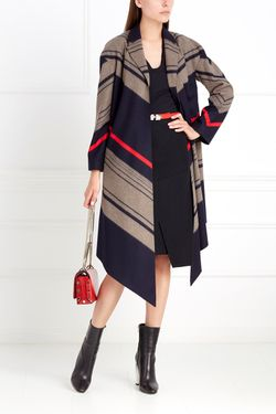 Шерстяное Пальто Chapurin                                                                                                              многоцветный цвет