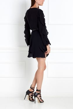 Шелковая Блузка Chapurin                                                                                                              черный цвет